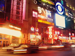 42nd Street Blur by Vidiot, on Flickr