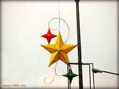 Christmas Street Decor - S3isStreetstars1 (Daniel Y. Go) Tags: christmas xmas canon star philippines powershot lanterns parol ocs fpc bituin streetdecor s3is wowiekazowie gettyimagesphilippinesq1