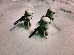 Daytime patrol (Kay The Warden) Tags: base killer star order first stormtrooper trooper snow starwars lego