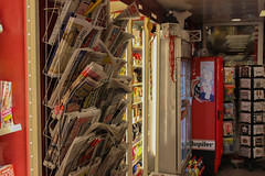 Newspapers of the world (jonasduyvejonck) Tags: newspapers belgium ghent relay media