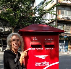 Other places - Bangkok letterbox (ashabot) Tags: travel seetheworld worldview seasia streetscenes street words signs