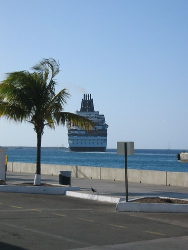 Cruise Ship In Nassau