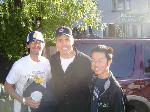 Me and Bill Romanowski