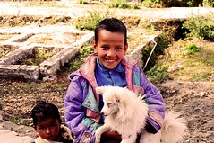 (divya babu) Tags: people india smile portraits children happy nikonfm10 uttaranchal shotonfilm munsyari mountainboy