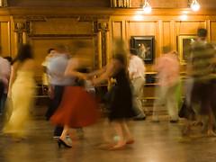 Dancing (James Thorpe) Tags: wedding cambridge party motion blur 350d dance reception ceilidh girtoncollege challengeyouwinner