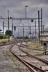 Decisions in life (TobTob) Tags: 20d photoshop canon eos switzerland suisse cs2 gare rail lausanne carlo hdr photomatix tobtob fachini carlofachini