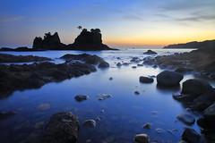 Planet Earth(ver2.0) (memories of time) Tags: japan shizuoka izu ose twilight sunset sea rock sky minamiizu 伊豆 大瀬 南伊豆