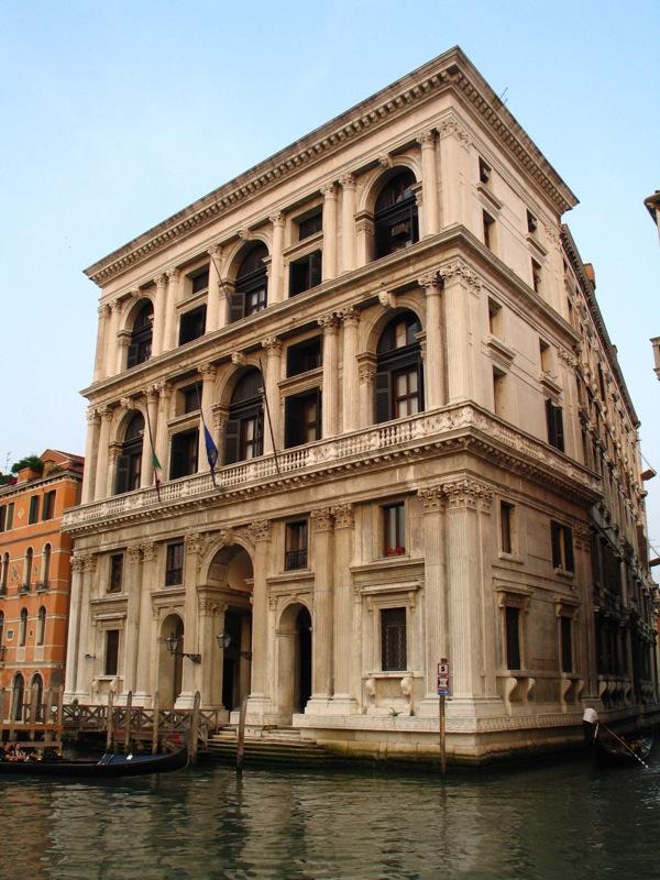 Michele Sanmicheli, Palazzo Grimani, 1575, Grand Canal, Venice