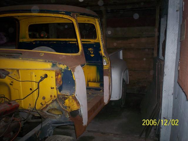 classic truck project pickup f100 restoration 1956 bodywork bodyoff