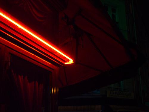 paris, neon