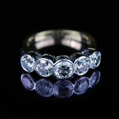 brilliant cut engagement rings. Five stone rilliant cut