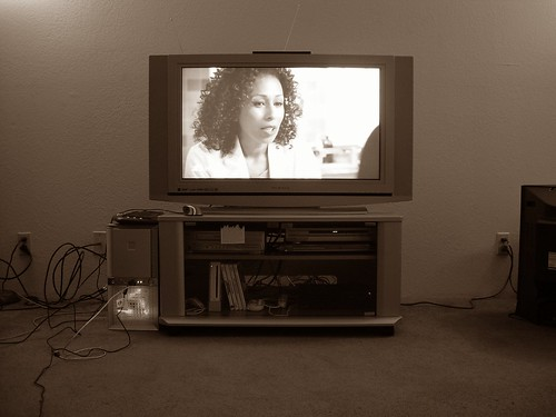 New TV, now with sepia!