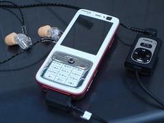 Nokia N73 with AD-41+Westone UM1 (YU-TA LEE) Tags: nokia westone n73 um1 ad41