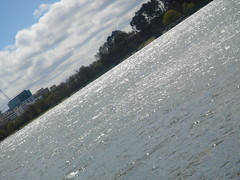 Lake uphill (diongillard) Tags: water gray canberra lakeburleygriffin