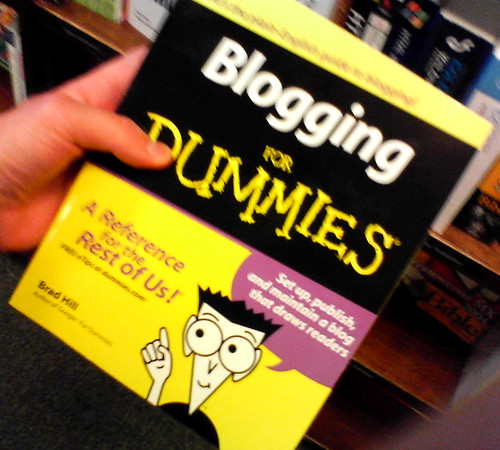 Blogging For Dummies by Frank Gruber, on Flickr