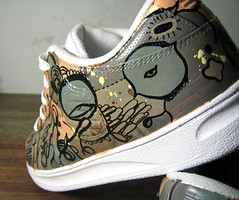 custom kswiss (senyol) Tags: africa art dogs leather k ink magazine fun town shoes drawing swiss painted south competition 2006 sneakers canvas cape spraypaint custom blunt senyol