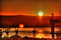 Twins Sun (Pierpol) Tags: sea orange sun mer yellow festival jaune soleil mediterranean cranes pp deleteit lct deleteit2 deleteit3 deleteit4 deleteit5 deleteit6 deleteit7 deleteit8 deleteit9 challengeyouwinner 3wcw couleursdelamditerrane pptgs