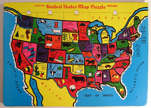 Usa Map Flickr