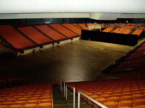 Empty arena - Peter Barron Stark Companies