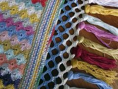 Crochet Quilt Pattern Detail