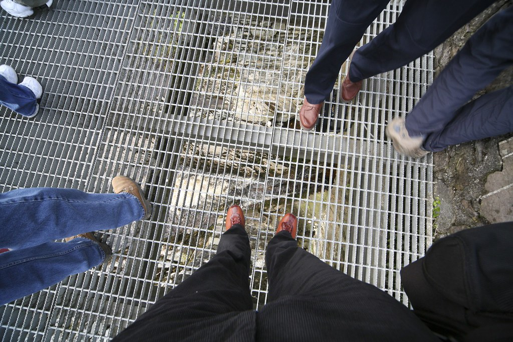 FEET ON THE BRIDGE