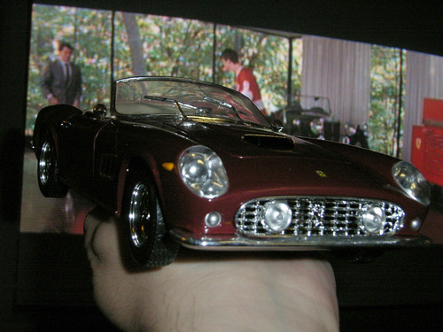 1/18 scale Ferrari 250GT California Spider: If you had access to a (toy) car like this, would you take it back right away?