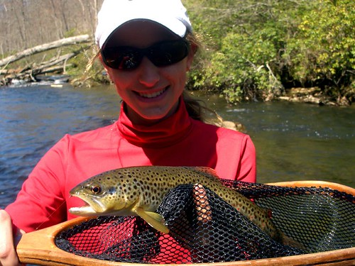 Gunpowder River Guide Trip Brown Trout