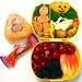 Pooh Halloween bento A 10-12-06