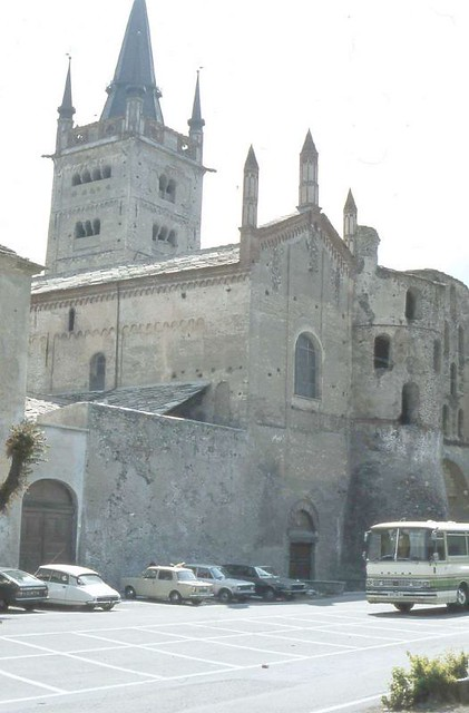 Cathedral of San Giusto Susa Piedmont Italy 1980 by Bettsy1970
