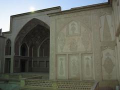 Inside the courtyard at Borujerdi ha House (GoodbyeKitty) Tags: iran kashan khaneborujerdiha borujerdihahouse
