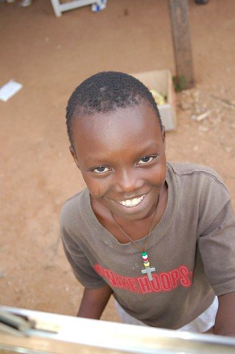 Isaiah - a youth being cared for by ECWA in Jos