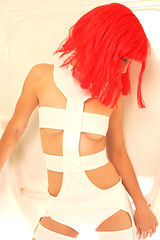 Tasha as Leeloo (Tasha Boo) Tags: costume leeloo fifthelement