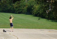 shot 02 2006.09.16 (tgkohn) Tags: park shirtless male basketball basket chest barechest dribble oneonone