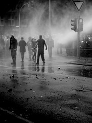 demo (spanier) Tags: city people blackandwhite bw kids dark demo freedom cops hamburg protest want demonstration darkcity npd antifa wasserwerfer ritterstrasse wandsbek thekidswantfreedom hasselbrookstrasse