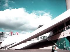 (Martin Maleschka) Tags: b shadow cloud berlin alex stairs concrete wolken x treppe alexanderplatz fernsehturm schatten beton dynamik tvturm spitzwiklig punkszene schlafpltze martinmaleschka