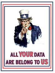 All YOUR data are belong to U.S.