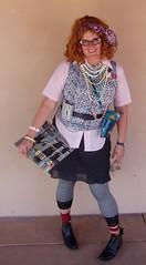80s girl (EllenJo) Tags: arizona halloween me beads costume walkman 2006 wig 80s smurf 1980s polkadot elviscostello clarkdale bornin1972 ellenjoroberts ellenjdroberts ejdroberts ellenjocom age34 liketotallyandfershurr 80sdreams halloweenalterego