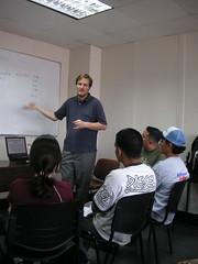 Kragen giving his talk