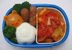 Ravioli lunch for toddler (Biggie*) Tags: food children lunch kid toddler child box tomatoes egg broccoli eggs bento accessories packedlunch boxlunch bentobox ravioli weiners  schoollunch hardboiledeggs biggie  brownbag lunchinabox   boiledeggs boiledegg hardboiledegg cocktailsausages raviolis  animalcap sacklunch  moldedegg  boxedlunch moldedeggs bentoblog brownbaglunch shapedegg shapedeggs bearcap bikkurianimal lunchaccessories bearcaps animalcaps         ssbiggie lunchinaboxnet twittermoms
