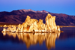 Dawn at Mono Lake (tony's pics) Tags: california longexposure lake reflection water dawn interestingness saltlake monolake tufa us395 interestingness12 i500 25faves exploretop20 explore1nov2006