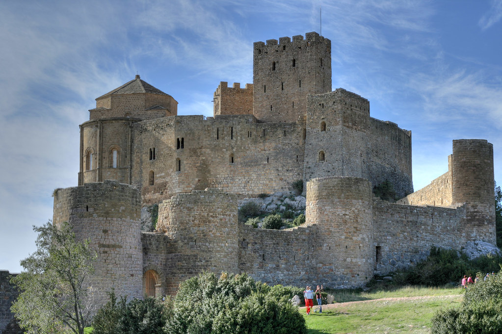Loarre Castle is a Romanesque fortress in Huesca province, Aragon, Spain. The Castle of Loarre was protagonist of the filming of The Kingdom of Heaven by Ridley Scott.