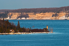 East Channel Lighthouse and Pictured Rocks