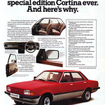 Ford Cortina Crusader Retro Car Advert