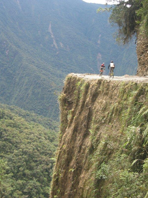 Ciclismo Carretera de la Muerte Yungas
