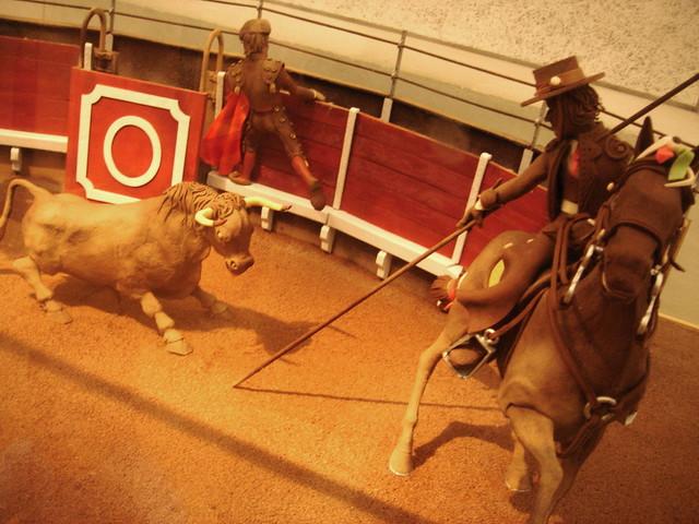 Chocolate bullfighting