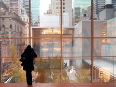 Meisje in MoMA