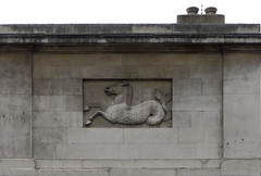 merhorse (Yersinia) Tags: city uk greatbritain england london public londonbridge geotagged europe unitedkingdom britain eu gb safe kingwilliamstreet cityoflondon ec4 mythicalbeast faved squaremile londonset ccnc fishhall photographical yersinia fishmongershall merhorse londonpool urbanbestiary urbanfragmentspool casioexz110 guessnot alondonbestiary northofthames anurbanbestiary londonboroughcollection