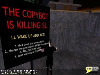 New Second Life Copybot Video | Second Life Update – Virtual World 3d