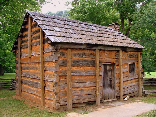 Replica of Lincoln's Boyhood Home