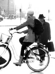 Uomo con bike*